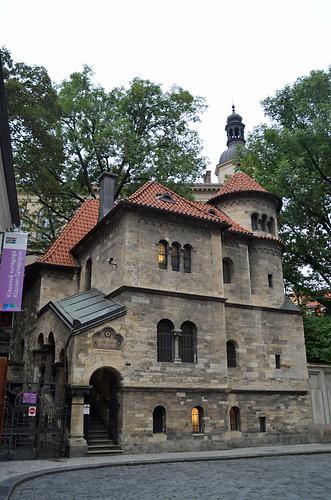 Versammlungshalle der Chewra Kadischa in Prag