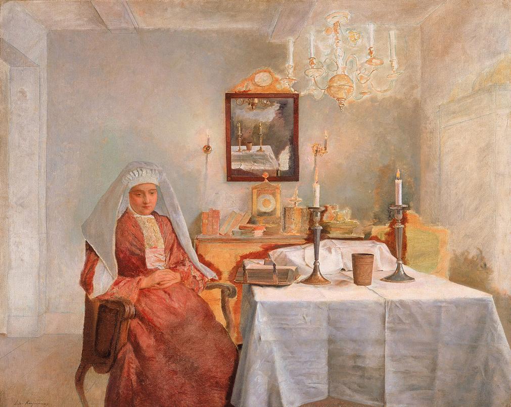 """""""Freitag bei Nacht"""", von Isidor Kaufman"""
